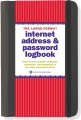 Product Large-Format Internet Address & Password Logbook