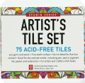 Product Studio Series Artist's Tiles White: 75 Acid-free White Tiles