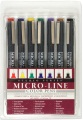 Product Studio Series Colored Micro-line Pen Set