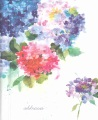 Product Hydrangeas Large Address Book