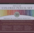 Product Studio Series 50-unit Deluxe Colored Pencil Set