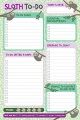 Product Sloth Notepad: To Do List