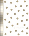Product Gold Dots Large Address Book