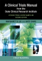 Product A Clinical Trials Manual from the Duke Clinical Re