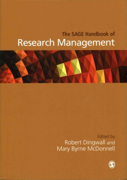 Product The SAGE Handbook of Research Management