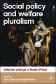 Product Social Policy and Welfare Pluralism