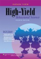 Product High-Yield Behavioral Science