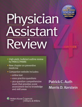 Product Physician Assistant Review