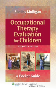 Product Occupational Therapy Evaluation for Children: A Pocket Guide