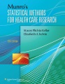 Product Munro's Statistical Methods for Health Care Resear