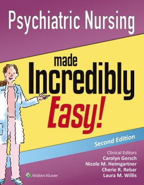 Product Psychiatric Nursing Made Incredibly Easy!: Includes DSM-5!