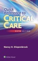 Product Quick Reference to Critical Care