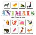 Product Alain Grée Animals Matching Game