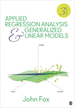 Product Applied Regression Analysis and Generalized Linear Models