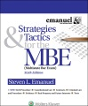 Product Strategies & Tactics for the MBE (Multistate Bar Exam)