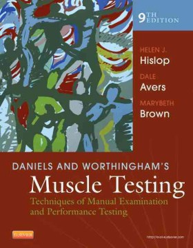 Product Daniels and Worthingham's Muscle Testing: Techniques of Manual Examination and Performance Testing