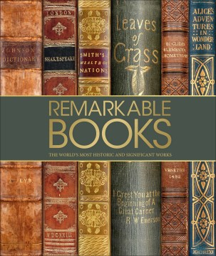 Product Remarkable Books: A Celebration of the World's Most Beautiful and Historic Works