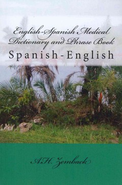 Product English-Spanish Medical Dictionary and Phrase Book