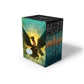 Product Percy Jackson and the Olympians: New Covers With Poster