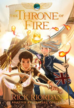 Product The Throne of Fire: The Graphic Novel