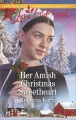 Product Her Amish Christmas Sweetheart