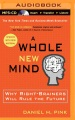 Product A Whole New Mind: Why Right-Brainers Will Rule the Future