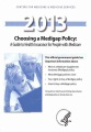 Product Choosing a Medigap Policy 2013
