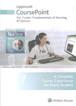 Product Fundamentals of Nursing Lippincott Coursepoint