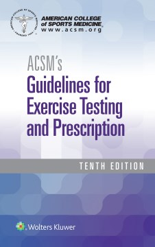 Product ACSM's Guidelines for Exercise Testing and Prescription