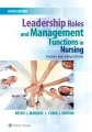 Product Leadership Roles and Management Functions in Nursing: Theory and Application