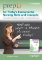 Product Timby's Fundamental Nursing Skills and Concepts Pr