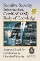Product Sensitive Security Information, Certified Ssi Body