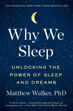 Product Why We Sleep: Unlocking the Power of Sleep and Dreams