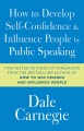 Product How to Develop Self-Confidence and Influence People by Public Speaking
