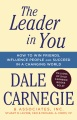 Product The Leader in You: How to Win Friends, Influence People and Succeed in a Changing World