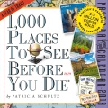 Product 1,000 Places to See Before You Die 2019 Calendar