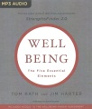 Product Wellbeing: The Five Essential Elements