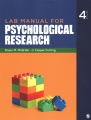 Product Lab Manual for Psychological Research