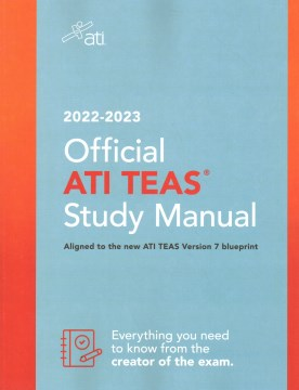 Product ATI TEAS Study Manual: For the Test of Essential Academic Skills