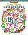 Product Good Vibes Adult Coloring Book