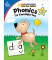 Product Phonics for Kindergarten: Home Workbooks Gold Star Edition