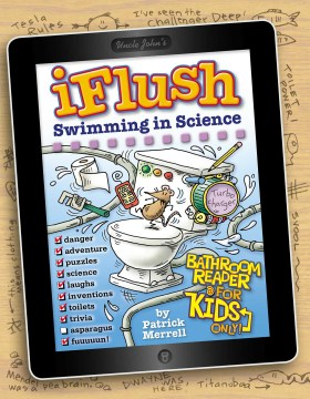 Product Uncle John's iFlush Swimming in Science Bathroom Reader for Kids Only!