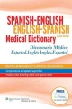 Product Spanish-English English-Spanish Medical Dictionary