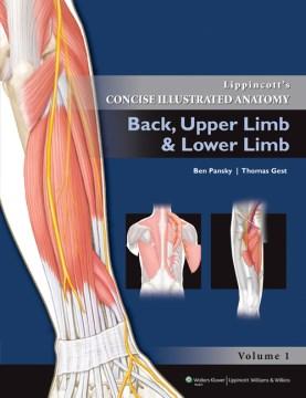Product Lippincott's Concise Illustrated Anatomy: Back, Upper Limb & Lower Limb