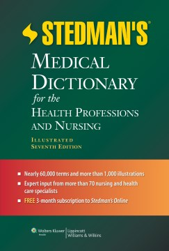 Product Stedman's Medical Dictionary for the Health Professions and Nursing