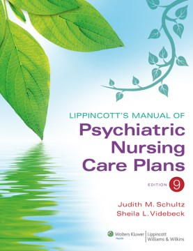 Product Lippincott's Manual of Psychiatric Nursing Care Plans