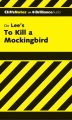 Product CliffsNotes on Lee's To Kill a Mockingbird