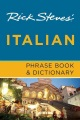 Product Rick Steves' Italian Phrase Book & Dictionary