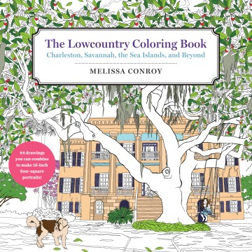 Product The Lowcountry Coloring Book: Charleston, Savannah, the Sea Islands, and Beyond