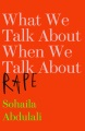 Product What We Talk About When We Talk About Rape